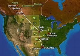 keystone xl pipeline map reverses obama s course on keystone xl pipeline and other