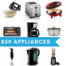 how to deal with a small kitchen 6 small kitchen appliances for 85 each after rebate