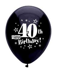 40th birthday balloons delivery 40th birthday party decorations ebay