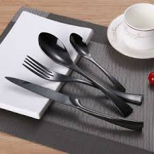 design besteck design besteck lekoch set steak messer edelstahl tafel 4 6 12