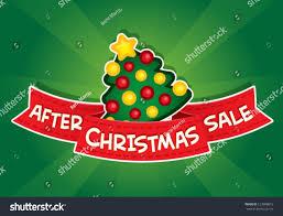 after tree sales lights decoration