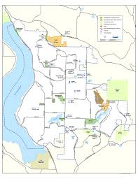 Washington Park Map by Trail Maps Sammamish Walks