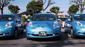 nissan leaf japan 2018 kikuyo taxi in japan goes all electric with nissan leaf youtube