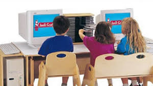 Classroom Computer Desk by Computer Table 60 Inch Blue And Play Furniture Baby