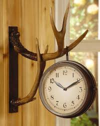 rustic clocks u0026 wildlife clocks with moose u0026 bear designs