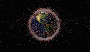 See all the satellites and space junk circling earth in real time