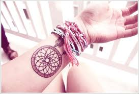 small dream catcher tattoo on wrist tattoos book 65 000