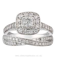 wedding ring sets uk bridal ring set buy cheap womens and mens jewelry watches at