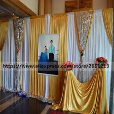 compare prices on wedding curtain with sequins online shopping