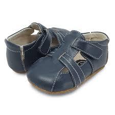 navy leather baby boy shoe cute soft u0026 versitle livie u0026 luca