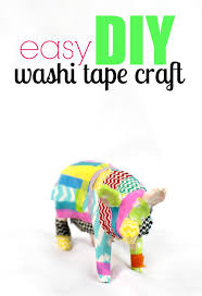 easy diy washi tape craft six time mommy and counting u2026