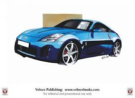nissan 350z drawing adrian dewey how to illustrate and design concept cars drive u0026 ride