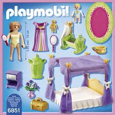 playmobil chambre b playmobil chambre de la reine avec lit a baldaquin 6851 joué