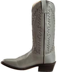 old west men u0027s smooth leather cowboy boot medium toe scm7037 ebay