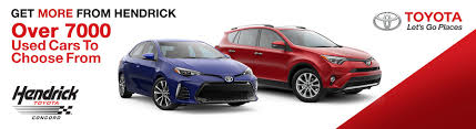 lexus of concord new car inventory hendrick toyota concord new u0026 used toyota dealership near