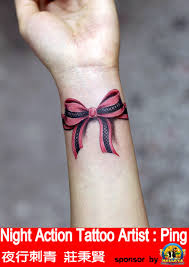 my new corset bow tattoo on legs photos pictures and sketches
