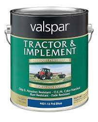 amazon com valspar 4431 12 ford blue tractor and implement paint