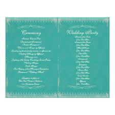 cheap wedding ceremony programs cheap wedding flyers programs zazzle