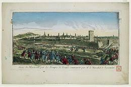 siege de siège de maastricht 1748 wikipédia