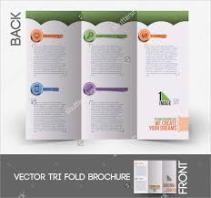 services brochure secretarial services tri fold brochure template