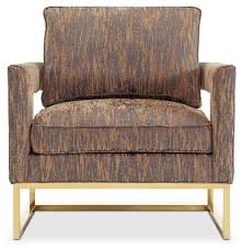 pleasant gold accent chair with additional mid century modern