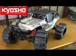 kyosho foxx ve readyset electric 4wd monster truck