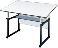 Drafting Table Base Alvin Workmaster Drafting Table Black Base 37 5 X 72 Top