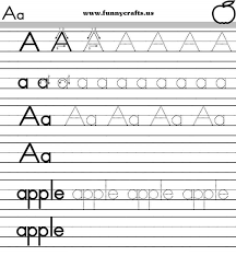 alphabet free alphabet writing worksheets for kindergarten