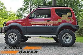 suzuki jimny off road suzuki custom suspension specialist xshockdakar
