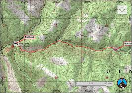 Utah Weather Map by Hiking Diamond Fork Fifth Water Springs Wasatch Front