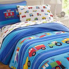Cars Toddler Bedroom Set Olive Kids Trains Planes And Trucks Full Bedding Comforter Set