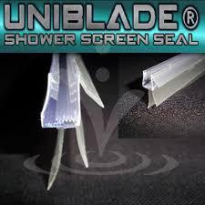 uniblade shower screen seal http showerdoorspares co uk shower