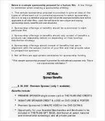 film proposal template sample project proposal template 9 free