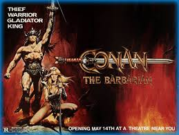 conan the barbarian 1982 movie review film essay