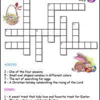 easter crosswords for kids