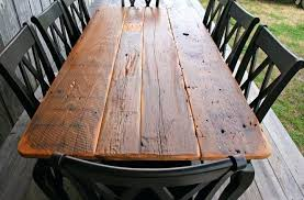 reclaimed barn wood table u2013 thelt co