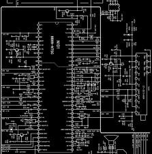 parker tu2191 u2013 ultraslim crt tv u2013 full circuit diagram electro help
