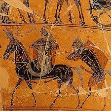 Francois Vase Greek Why Was Hephaestus U0027s Mule Ithyphallic Mythology Stack