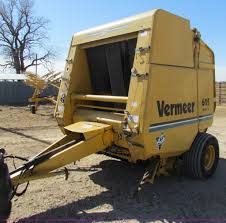 vermeer 605k round baler item c1855 sold march 26 ag eq