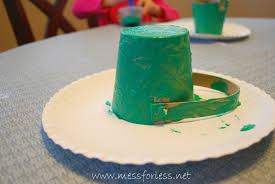 painted easter buckets leprechaun pot of gold mess for less