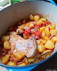 cuisiner le veau en cocotte quasi de veau en cocotte aux pommes de terre et tomates