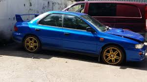 1998 subaru impreza 1998 subaru impreza wrx sti gc8 rotting away youtube