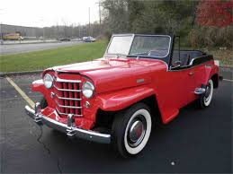 jeep jeepster lifted 1949 to 1951 willys jeepster for sale on classiccars com