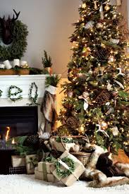 Natural Christmas Decorations Christmas Best Natural Christmasions Ideas On Pinterest Owlion