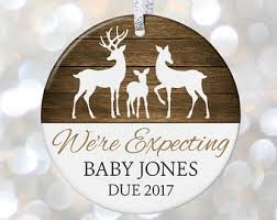 expecting ornament new baby shower gift ornament