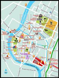 Bangkok Subway Map by Thailand And Laos Journey Maps
