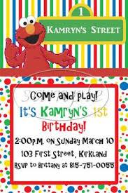 elmo birthday party invitation on etsy 10 00 birthday party
