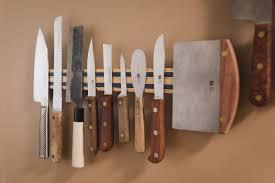 kitchen knives holder cabinets u0026 storages modern aluminium magnetic knife rack built in