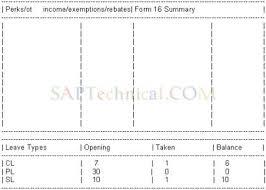 saptechnical com printing remuneration statement pay slips