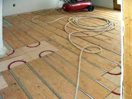 floor diy radiant floor heating pex on floor in best pex tubing